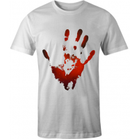 Bloody Hand T Shirt Shirt Sleeves