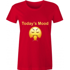 Women Slim Fit - Angry Mood