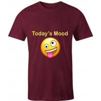 Men T Shirt Crazy Mood