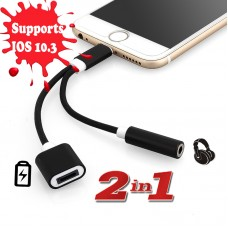 iPhone 7 -  2 in 1 Adapter